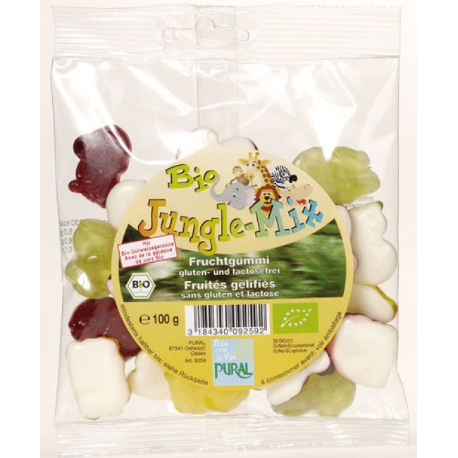 Jeleuri ecologice de fructe, jungle mix