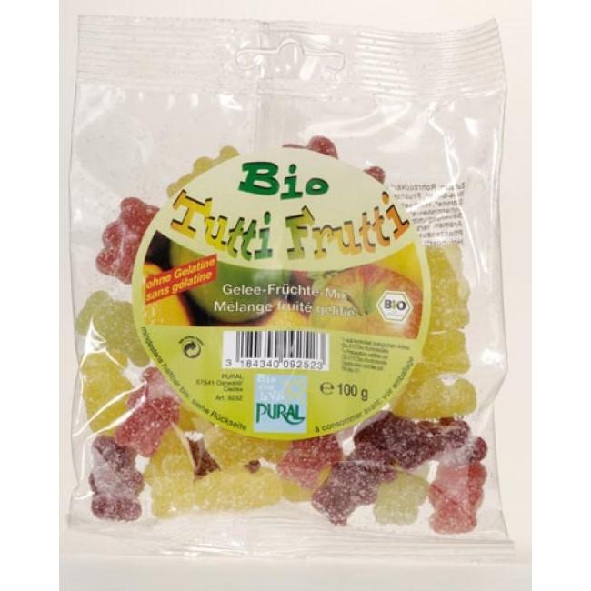 Jeleuri de fructe ecologice Tutti Frutti fara gelatina