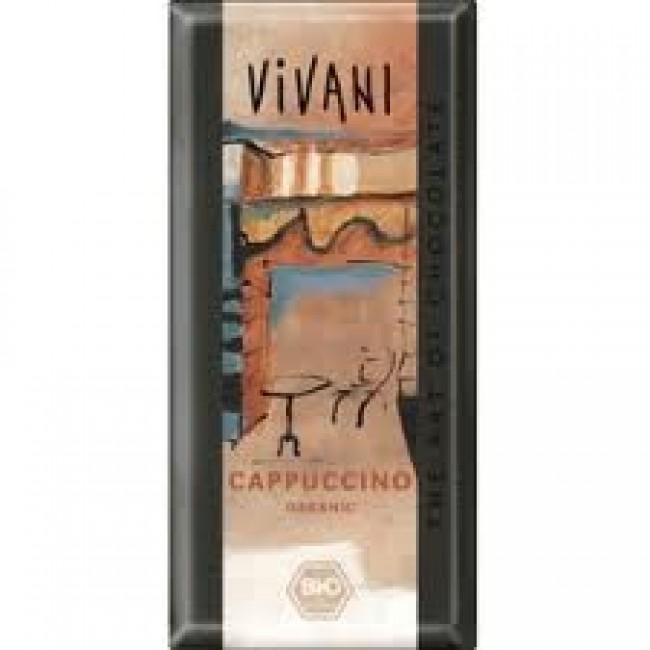 Ciocolata cu cappuccino ecologica, Vivani