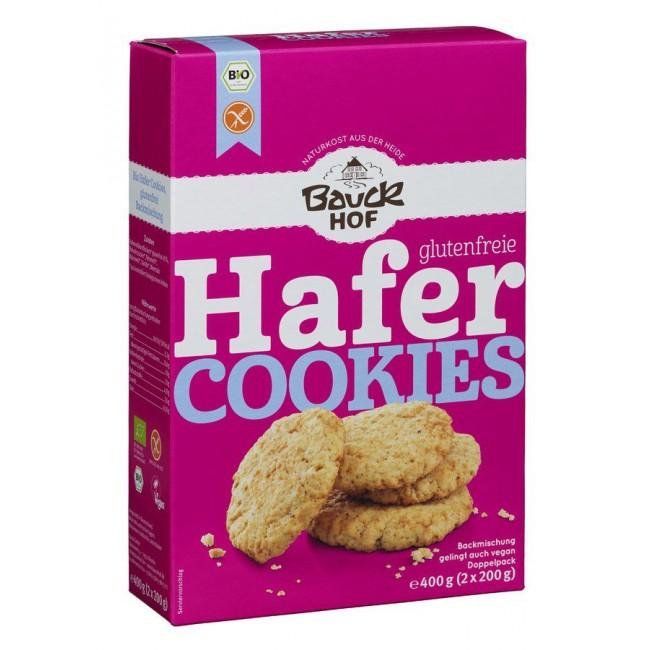 Amestec (premix) pentru biscuiti Cookies cu Ovaz Fara Gluten, Bauckhof