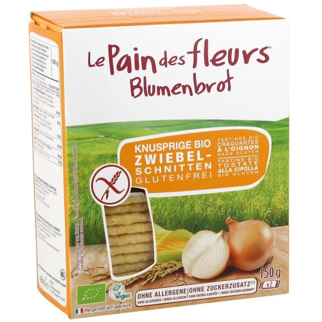 Painici cu ceapa fara gluten - Le Pain des Fleurs