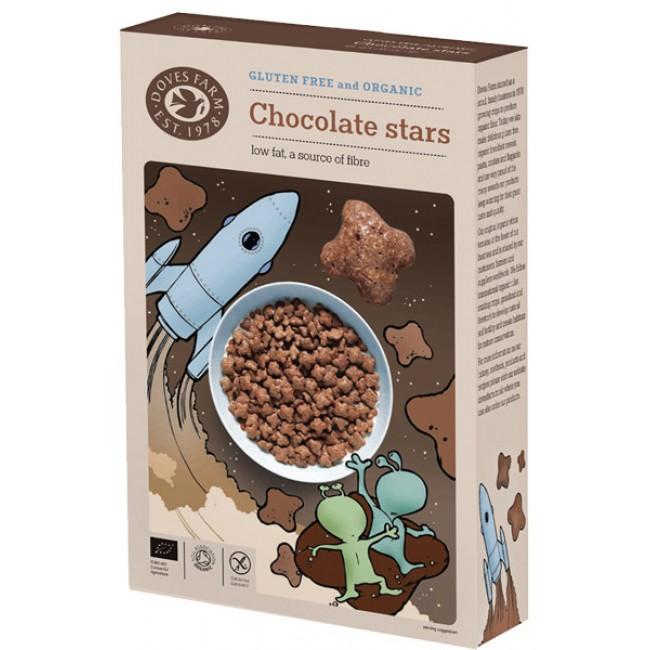 Stelute de ciocolata ecologice fara gluten
