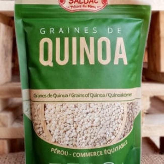 Quinoa alba ecologica comertul echitabil Peru, 425g