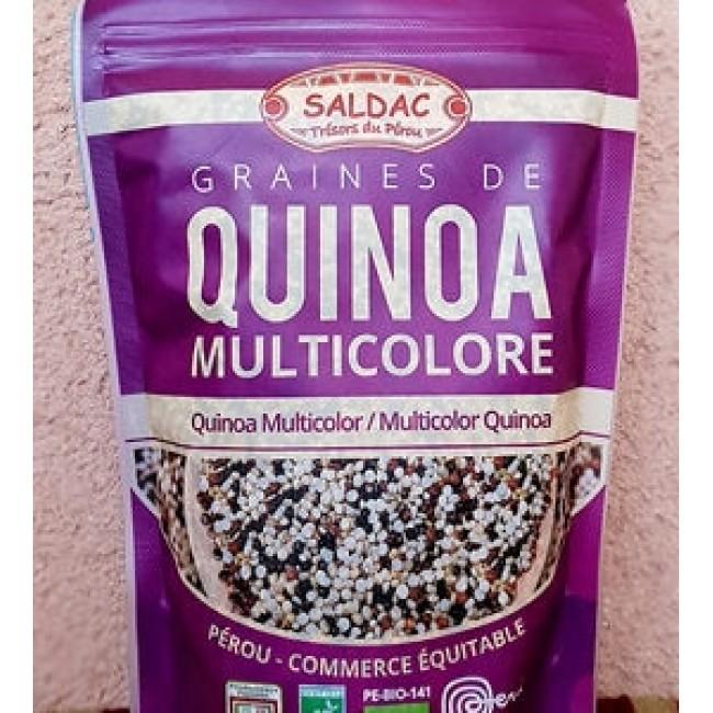 Quinoa multicolora ecologica comertul echitabil Peru