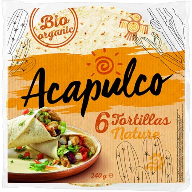 Lipii Tortilla bio Acapulco 6 bucati