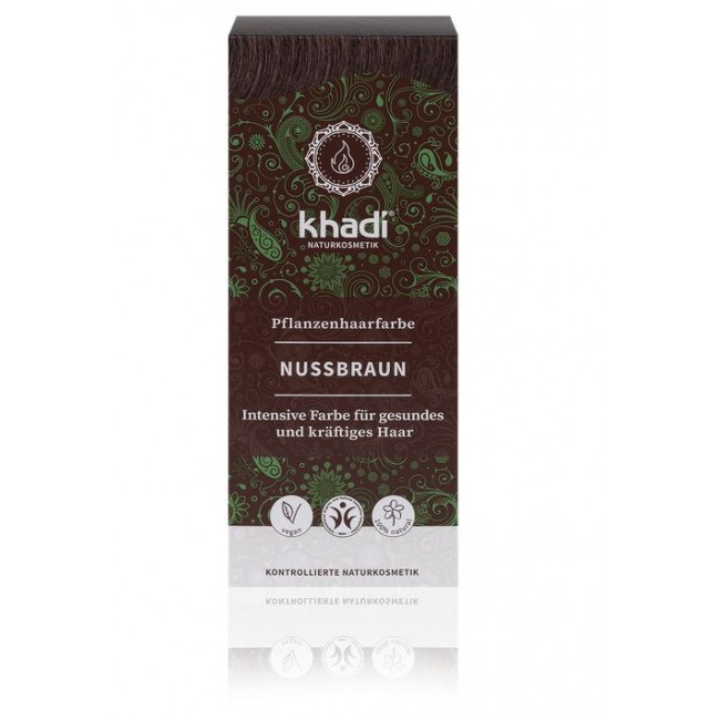Vopsea de par naturala Saten nuca Khadi