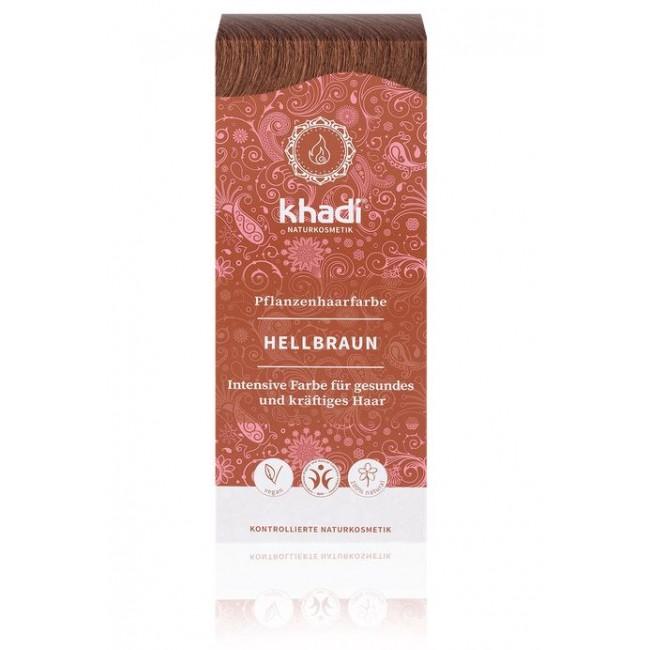 Vopsea de par naturala Saten deschis Khadi