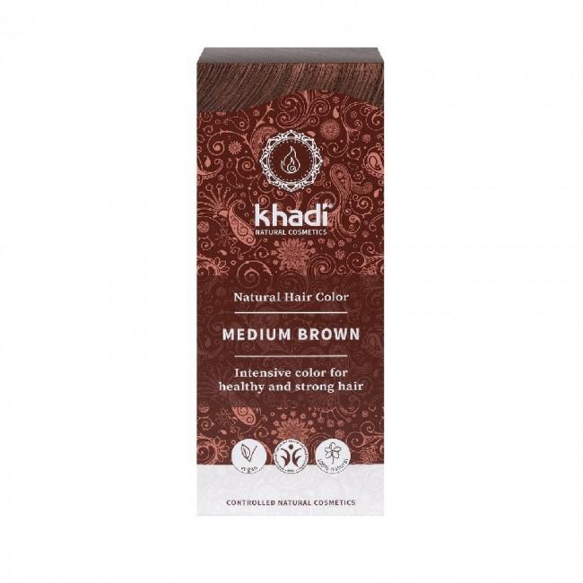 Vopsea de par naturala Saten mediu Khadi