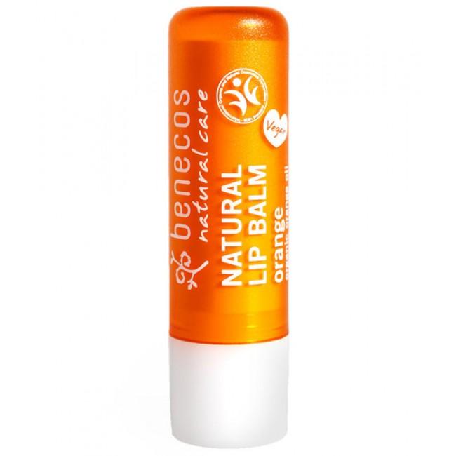 Balsam de buze BIO cu portocale  Benecos, vegan