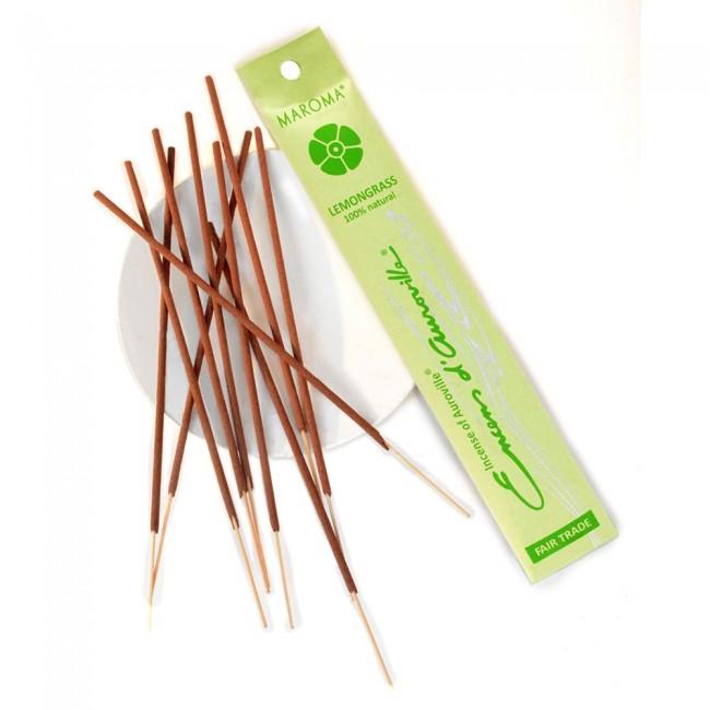 Betisoare parfumate din bambus lemongrass