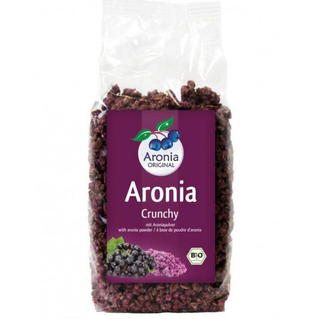 Musli (amestec fulgi de cereale) ecologic crocant cu Aronia