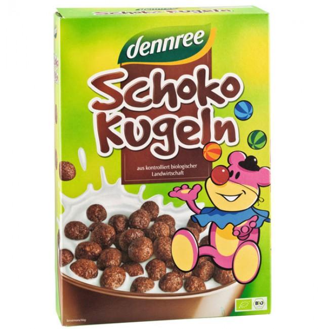 Cereale ecologice bilute cu ciocolata, Dennree