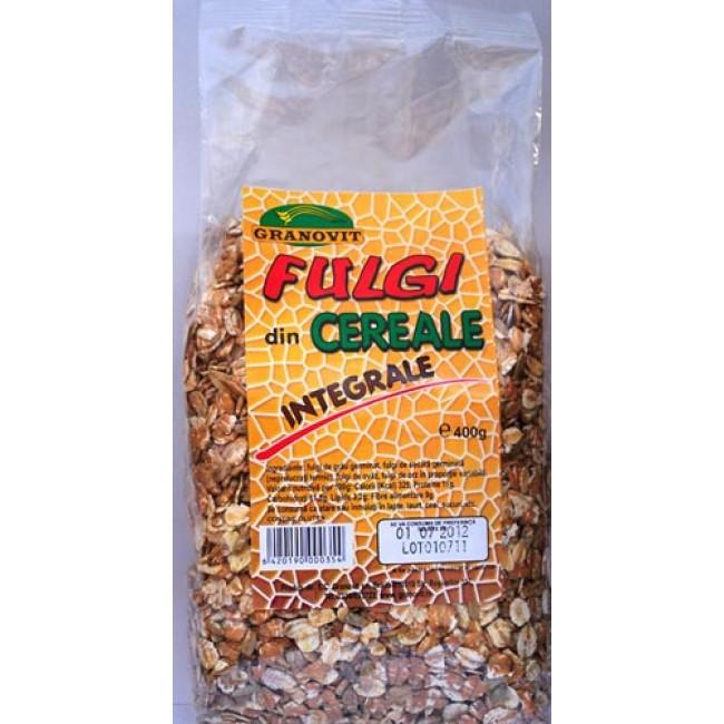 Fulgi de cereale integrale