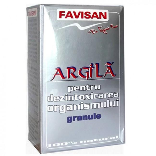 Argila 100% granule pentru dezintoxicarea organismului