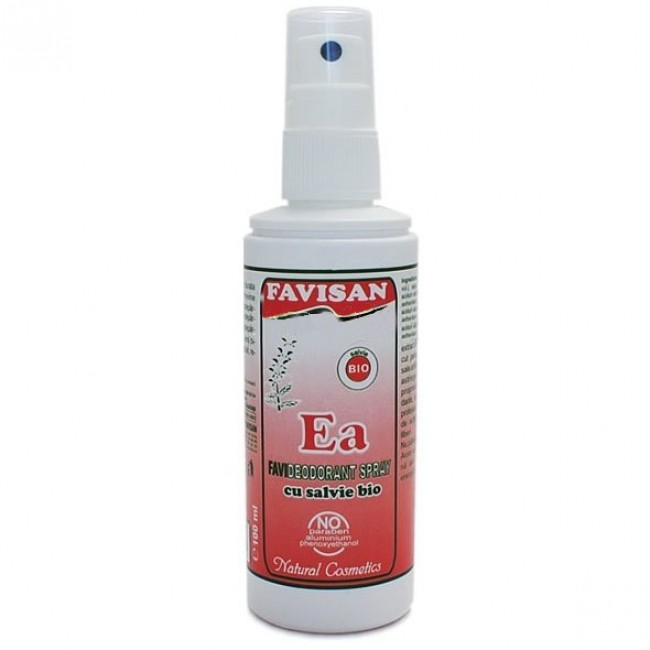 Deodorant spray EA cu salvie bio FAVISAN