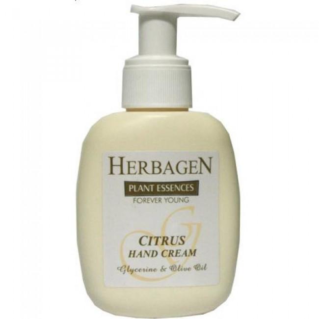 Crema de maini cu citrice, glicerina si ulei de masline, Herbagen