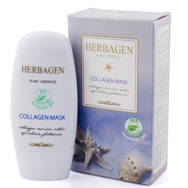 Masca cu colagen marin si spirulina, Herbagen