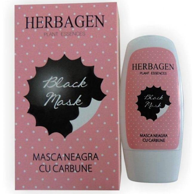 """Masca cu carbune """"Black Mask"""", Herbagen"""