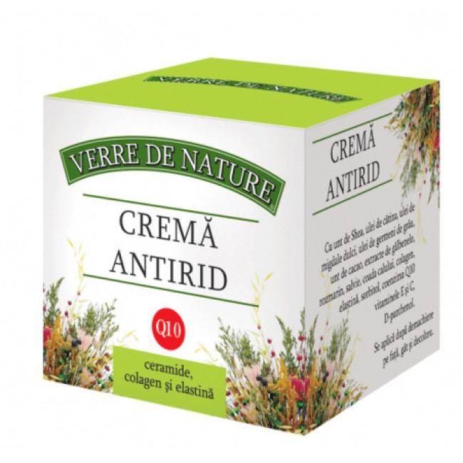 Crema antirid cu coenzima Q10, ceramide, calogen si elastina