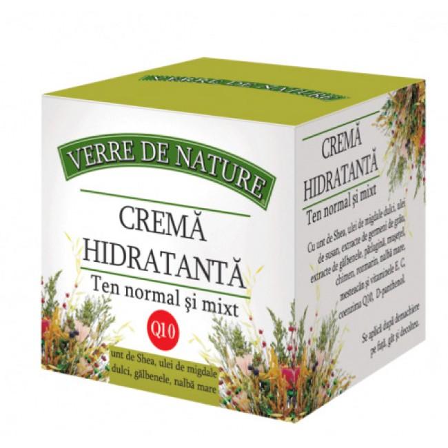 Crema hidratanta cu coenzima Q10 pentru ten normal si mixt