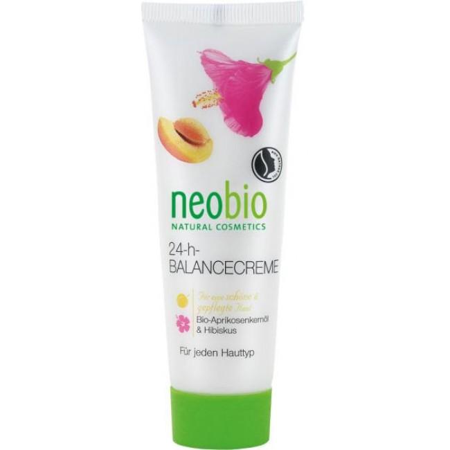 Crema bio Balance 24h pentru toate tipurile de ten, neobio