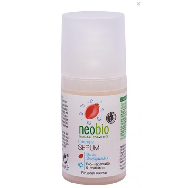 Serum bio cu hyaluron pentru hidratarea intensa a tenului, neobio