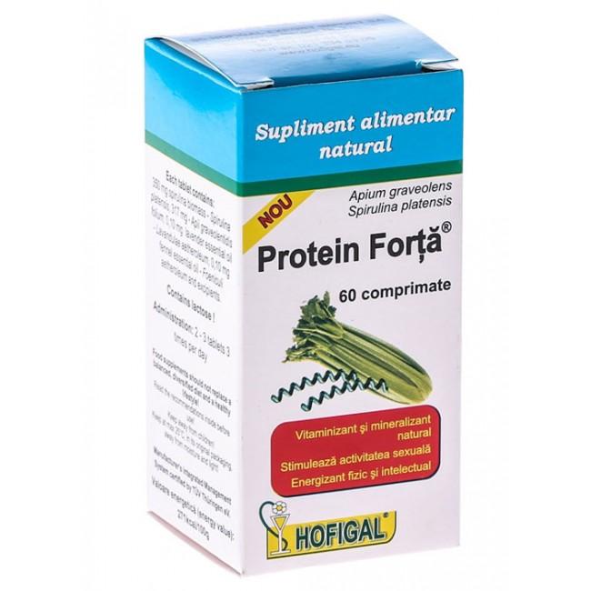 Protein Forta vitaminizant si mineralizant natural 60cpr.