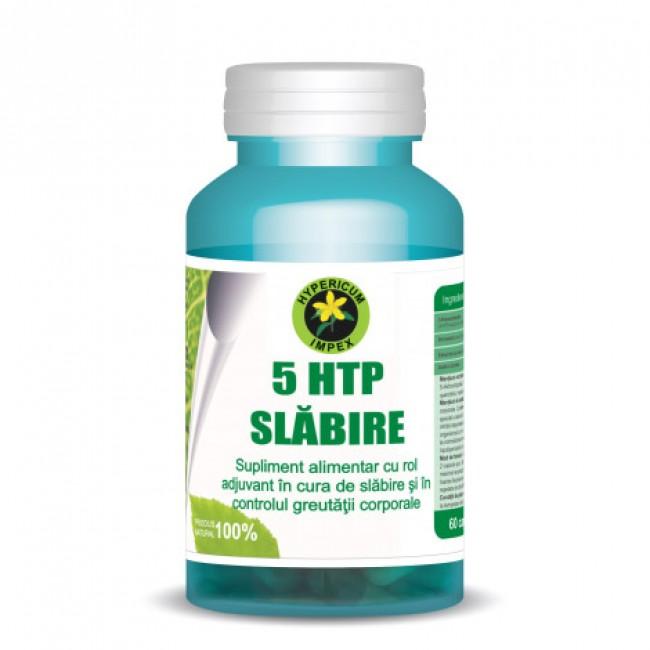 Capsule 5 Htp slabire - Supliment alimentar cu rol adjuvant în cura de slăbire, 60cps.