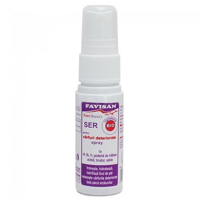 Ser pentru varfuri deteriorate - spray FAVIBEAUTY