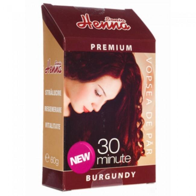 Vopsea par HENNA Sonia Premium BURGUNDY