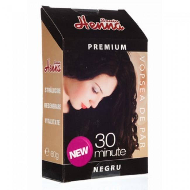Vopsea par HENNA Sonia Premium NEGRU