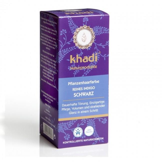Vopsea naturala Negru Indigo Khadi