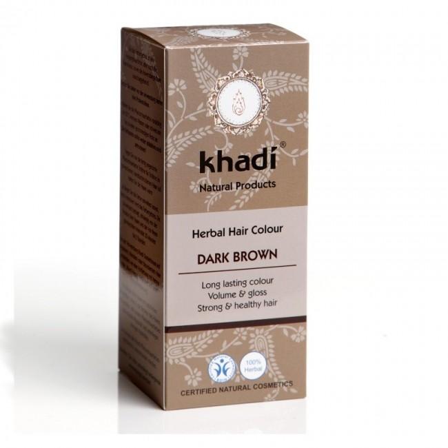Vopsea Henna Saten inchis Khadi