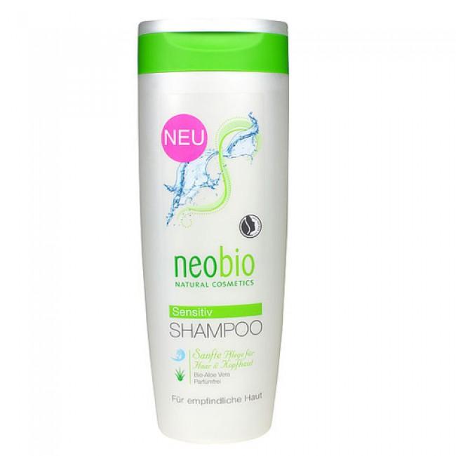 Sampon bio sensitiv cu aloe vera, fara parfum, Neobio