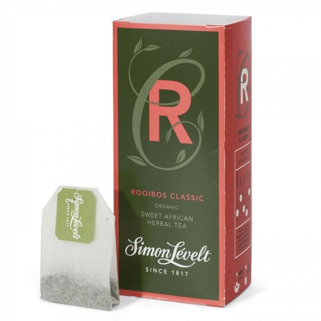 Ceai Rooibos ecologic, 20 plicuri, Simon Lévelt