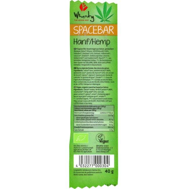 Baton bio vegan seitan cu canepa - Wheaty