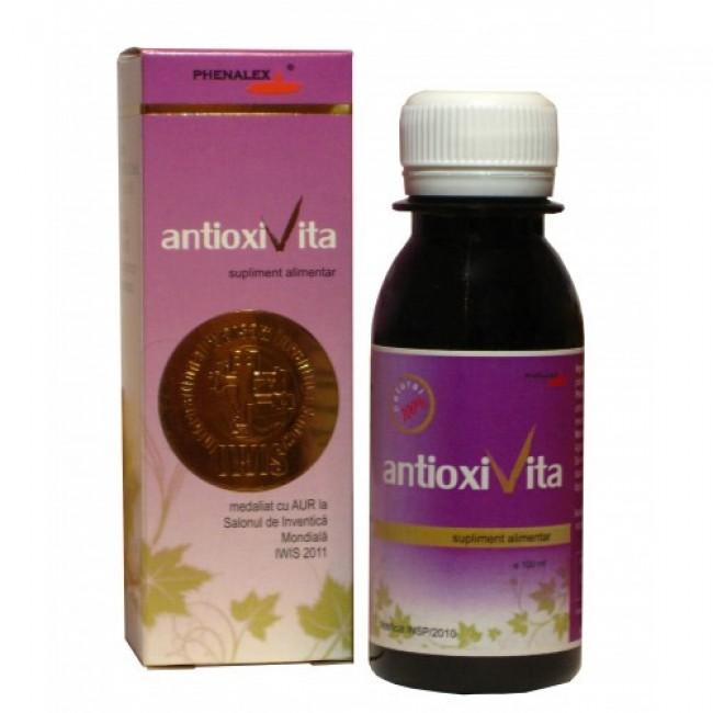 ANTIOXIVITA, Antioxidanti naturali din struguri, Phenalex, produs romanesc