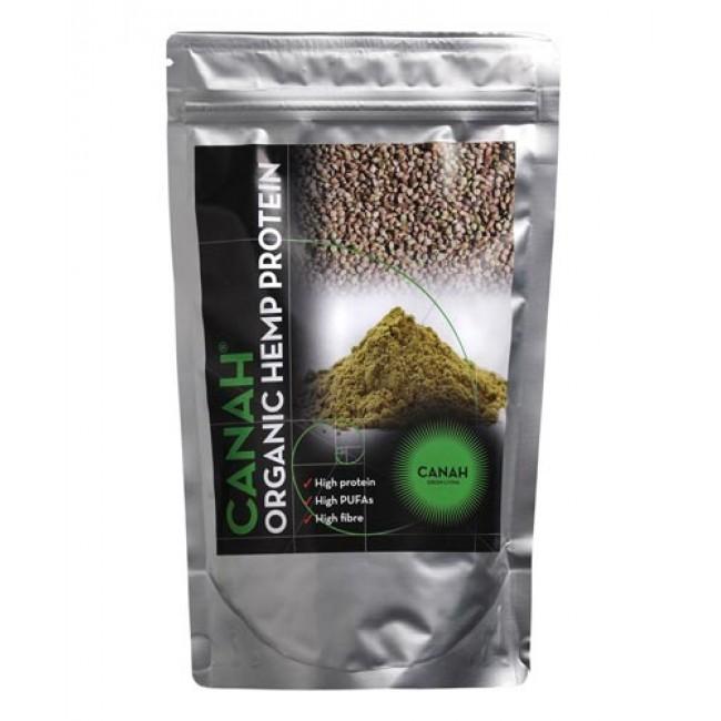 Pudra proteica din seminte de canepa 500g, Canah