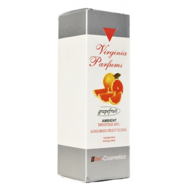 Ambient Grapefruit pentru camera Virginia Parfums