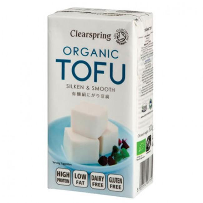 Tofu silken ecologic Clearspring