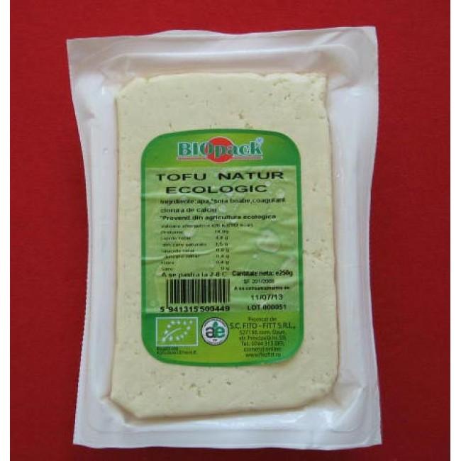 Tofu natur ecologic