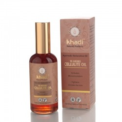 Ulei anticelulitic din 10 plante Khadi  100ML