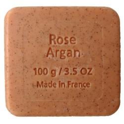 Sapun BIO exfoliant cu ulei de argan si trandafir