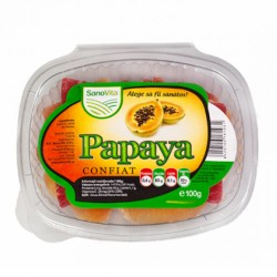 Papaya confiat 100 g - SanoVita