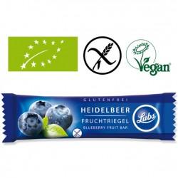 Batoane vegane ecologice de fructe cu afine fara gluten, Lubs