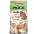 Biscuiti ecologici cu unt, cacao, fara zahar si sirop de agave Mogli