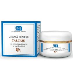 Crema pentru calcaie cu extract de patlagina si ulei de catina - Q4U