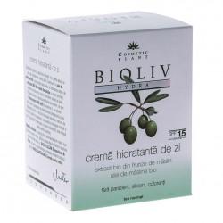 Crema hidratanta BIOLIV HYDRA  de zi pentru ten normal