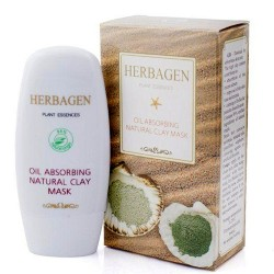 Masca antiseboree cu argila , Herbagen