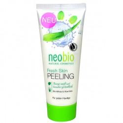 Peeling bio Fresh Skin cu aloe vera si menta, neobio